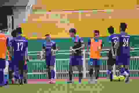 Đội tuyển Việt Nam đọ sức với đội mạnh hàng đầu Hàn Quốc