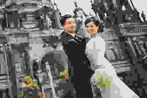 Ảnh cưới lãng mạn ở Berlin của cặp đôi Việt kiều Đức