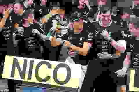 Nico Rosberg có chiến thắng chặng thứ 9, Mercedes vô địch F1 2016