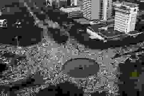 Biểu tình quy mô lớn rúng động Indonesia