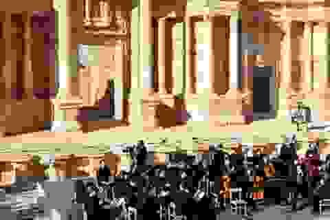 Nga tổ chức hòa nhạc giữa lòng thành cổ Palmyra từng bị IS chiếm