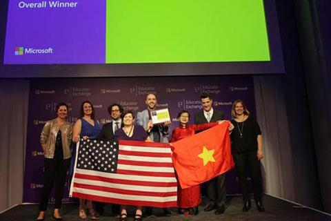 Giáo viên Việt Nam đạt giải cao nhất tại Diễn đàn Giáo dục Toàn cầu Microsoft