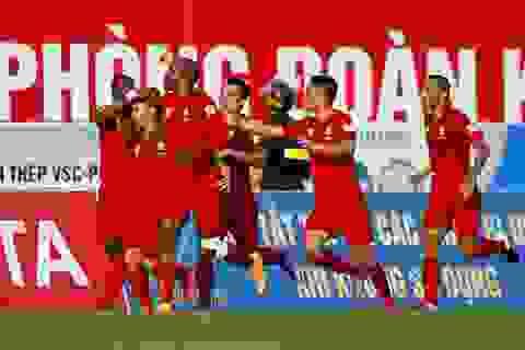 Đánh bại Than Quảng Ninh, Hải Phòng toàn thắng 7 trận liên tiếp
