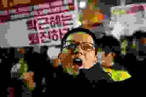 Tổng thống Hàn Quốc Park Geun-Hye đứng trước nguy cơ phải từ chức