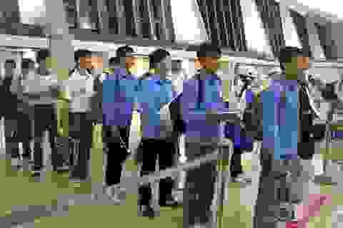 90 quận, huyện bị đưa vào diện tạm dừng tuyển lao động đi làm việc tại Hàn Quốc