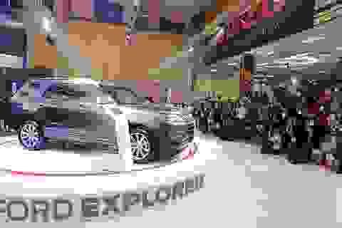 Khám phá SUV nhập khẩu từ Mỹ Ford Explorer 2017