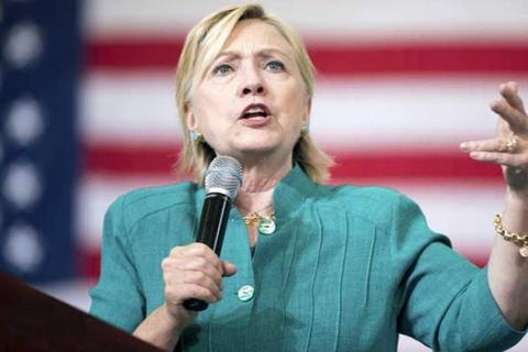 Bà Clinton cứng rắn với Trung Quốc, phản đối TPP