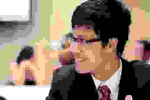 Chàng trai 9X Việt giành học bổng tiến sĩ trường ĐH Luật Harvard
