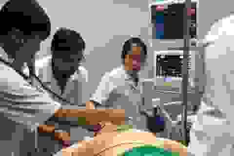 Mục sở thị ca cấp cứu ngừng tim trong khi gây tê tuỷ sống