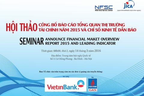 Hội thảo công bố báo cáo tổng quan thị trường tài chính 2015