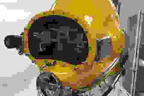 Mũ lặn công nghệ cao mang dáng dấp như một Minion