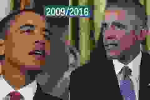 Các tổng thống Mỹ già đi như thế nào qua thời gian?