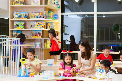 Khu vui chơi cho trẻ em Sài Gòn