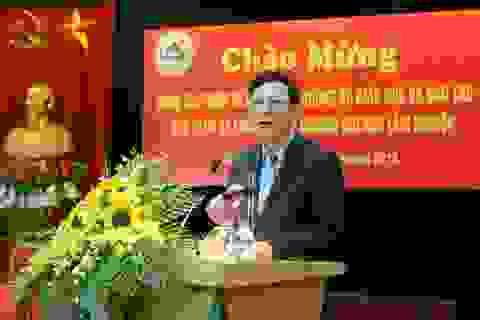 Bộ trưởng Phạm Vũ Luận thăm và làm việc tại trường Đại học Lâm nghiệp