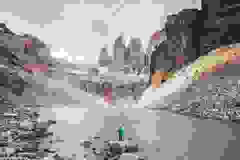 Khi con người cô độc giữa thiên nhiên hùng vĩ