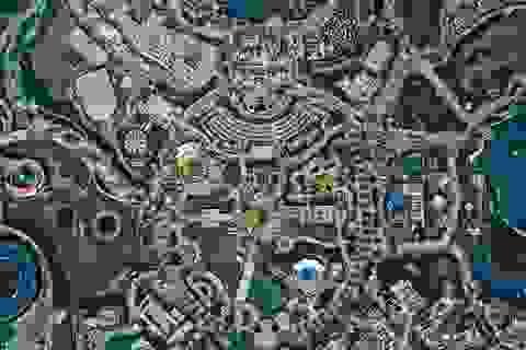 Ảnh chụp trên không về Disneyland Thượng Hải: Cháy vé khai mạc chỉ trong vài giờ