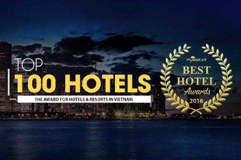 Công bố 100 khách sạn hàng đầu Việt Nam