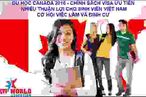 Du học Canada 2016: Chính sách xét Visa thay đổi thuận lợi cho sinh viên Việt Nam