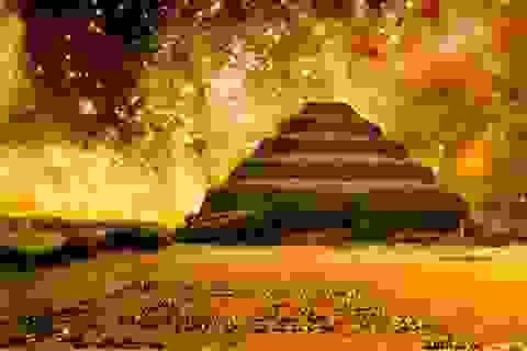Bí mật chưa tiết lộ về kim tự tháp đầu tiên của Ai Cập