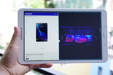 Samsung tung máy tính bảng cấu hình khỏe cho nhu cầu giải trí