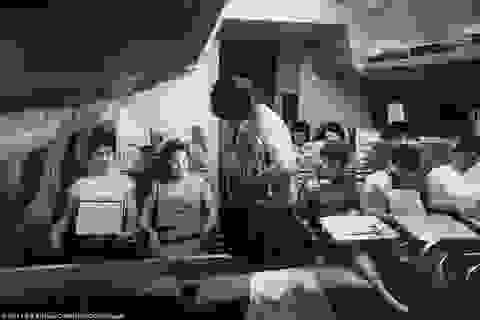 Tiết lộ hậu trường đào tạo tiếp viên hàng không 50 năm trước