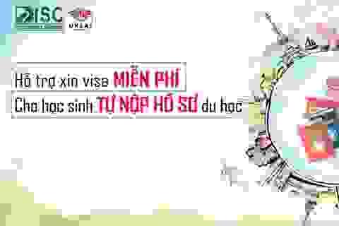 Hỗ trợ xin visa miễn phí cho học sinh tự nộp hồ sơ du học