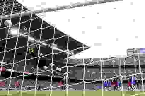 Atletico bị loại khỏi cuộc đua vô địch La Liga với Barcelona, Real Madrid