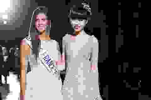 Người mẫu Việt đọ dáng hoa hậu Pháp