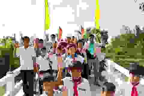 Khánh thành cầu Dân trí thứ 10 tại Sóc Trăng