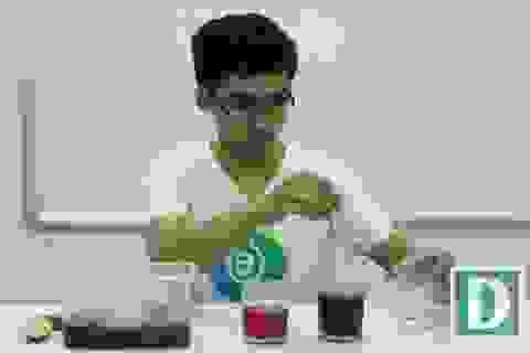Khoa học vui: Lý giải hiện tượng nước luộc rau bị biến đổi màu