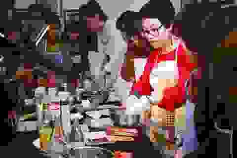 Cùng chuyên gia ẩm thực Phan Anh làm bánh đón Tết