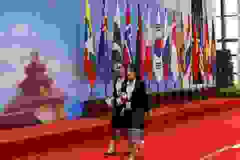 Căng thẳng Biển Đông phủ bóng Hội nghị Ngoại trưởng ASEAN ở Lào