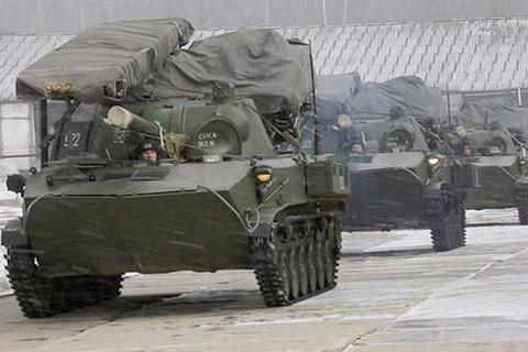 Lính dù Nga báo động chiến đấu