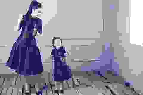 """Linh Nga: """"Tôi luôn mang con gái đi diễn cùng"""""""