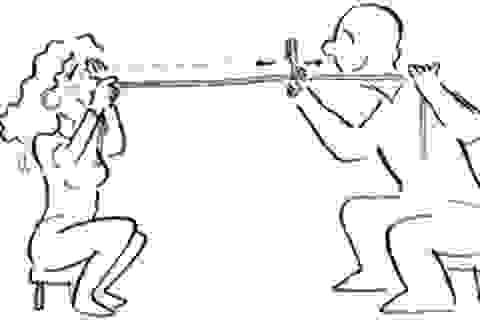 Bài tập chữa mắt cận thị