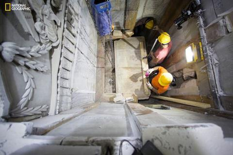 Phát hiện chiếc giường đá Chúa Jesus đã nằm khi được chôn cất