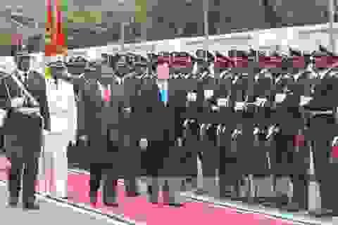 Chủ tịch nước hội đàm với Tổng thống Mozambique