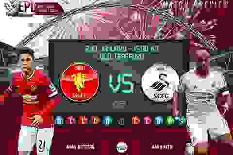 Man Utd - Swansea: Gieo lại niềm tin