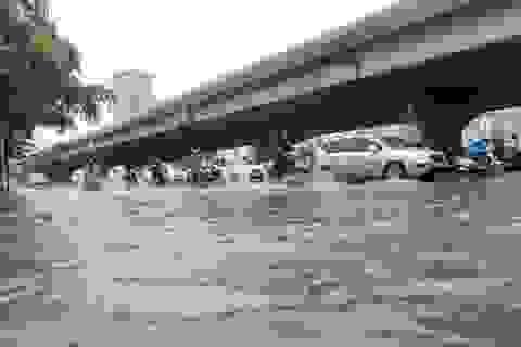 Tôi bán ý tưởng chống ngập nước sau mưa trên các đường phố