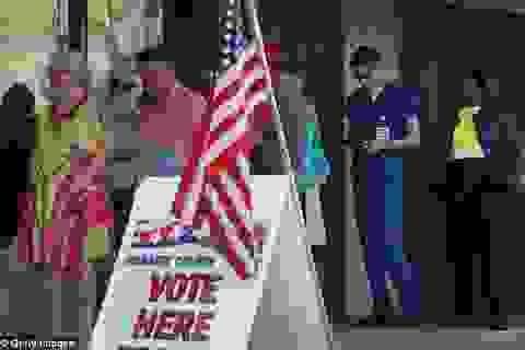 Hơn 21 triệu người Mỹ đã bầu xong tổng thống