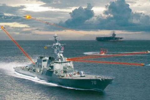 Vũ khí laser Mỹ lần đầu tiên bắn hạ máy bay