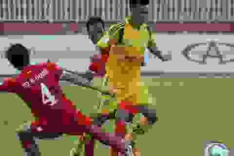 Cầu thủ Viettel nhận án treo giò nội bộ vì đánh nguội đối phương