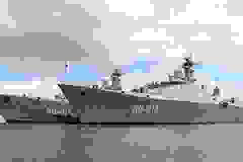 Nga hạ thủy tàu hộ vệ tên lửa Gepard đóng cho Việt Nam