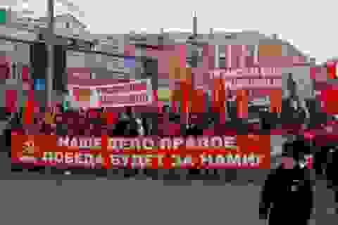 Hoạt động kỷ niệm 99 năm Cách mạng Tháng Mười Nga