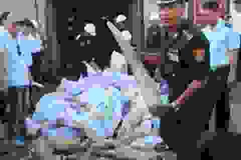 Đề xuất nghiền nát ngà voi, sừng tê giác lậu ở trung tâm Hà Nội