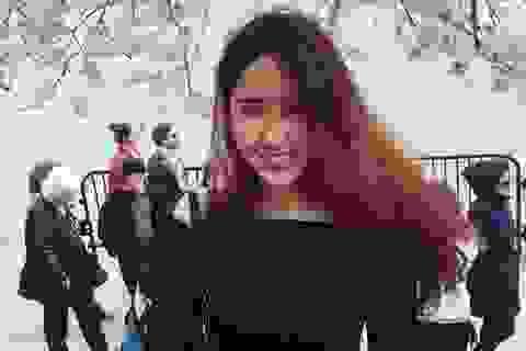 """Phó chủ tịch """"chân dài"""" của hội SV Việt tại trường nữ sinh danh giá Mỹ"""