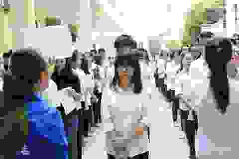 Gần 600.000 lượt thí sinh có điểm thi đạt 15 trở lên