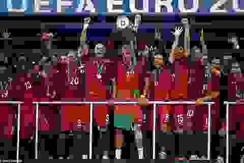 Vô địch Euro 2016, Bồ Đào Nha lên đứng thứ 6 thế giới