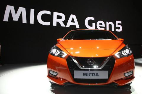 Nissan Micra thay đổi diện mạo