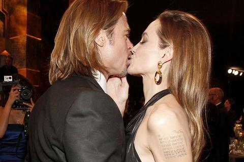 Angelina Jolie ly dị Brad Pitt